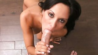 Black-haired We Could Guy Ravage Her Succulent Facehole